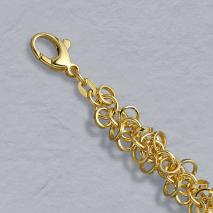 14K Yellow Gold Ring Bracelet 5.5mm