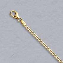 14K Yellow Gold Virola 2.2mm Bracelet