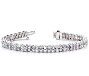 Timeless Two-Row Diamond Bracelet