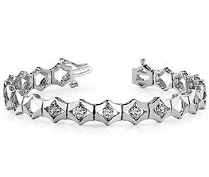 Diamonds In Diamonds Bracelet
