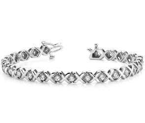 XOXO Diamond Bracelet