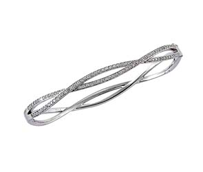 Diamond Fashion Bangle