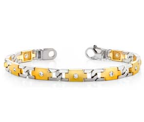 Diamond Plus Link Bracelet
