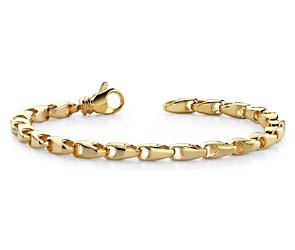 Open Teardrop Link Bracelet