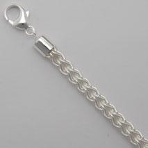 Sterling Silver Round Etruscan 6.0mm Bracelet