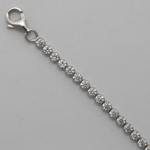 Sterling Silver Single Cubic Zirconia