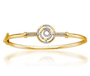 Ladies Diamond Fashion Bangle