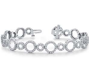 Alternating Circle Link Bracelet