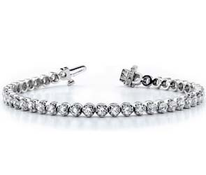 Classic Prong Set Tennis Bracelet