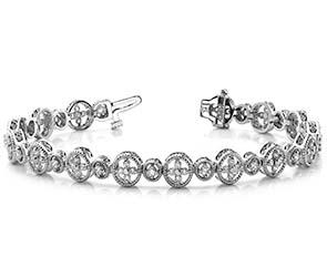 Diamond Sand Dollar Bracelet