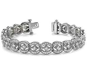 Vintage Art Deco Diamond Bracelet
