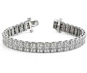 Filigree Diamond Choker Bracelet