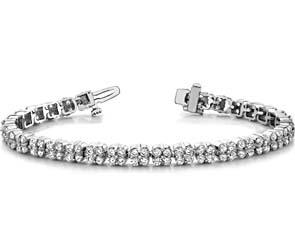 Diamond Squares Bracelet
