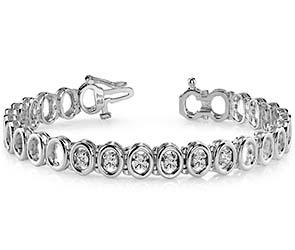 Classic Two Tone Add A Diamond Bracelet
