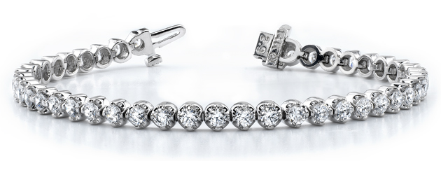 Classic Prong Set Tennis Bracelet 2.0 Carat Total Weight