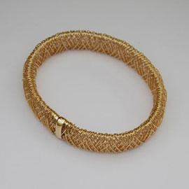 14K Wire Wrapped Bangles