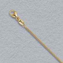 14K Yellow Gold Boa Snake Chain 1.2mm