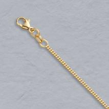 14K Yellow Gold Curb 1.5mm Chain