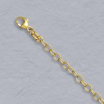 14K Yellow Gold Cable Twist Chain 3.0mm