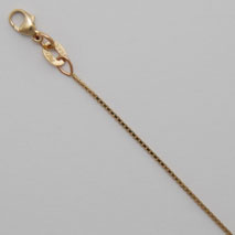 14K Yellow Gold Octava Box 0.7mm, Natural