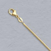 18K Yellow Gold Boa Snake Chain 1.6mm