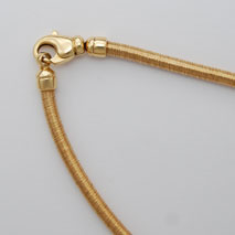 18K Yellow Gold Cocoon 3.5mm Chain, Lobster Clasp