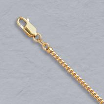 18K Yellow Gold Franco 2.0mm Chain