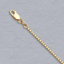 18K Yellow Gold Octava 1.4mm Chain