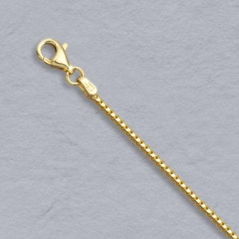 14k 1.5mm Franco Chain