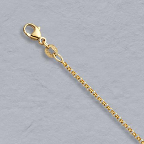 16-Inch 14K Yellow Gold Rolo Chain 1.5mm
