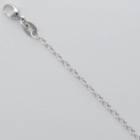 16-Inch Platinum Trace Wide Chain 1.5mm