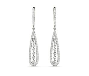 Diamond Hanging Fashion Earrings