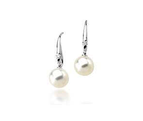 Genuine Paspaley White South Sea Culture Pearl Earrings