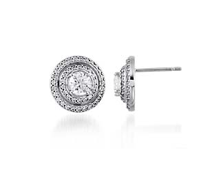 Entourage Diamond Stud Earrings