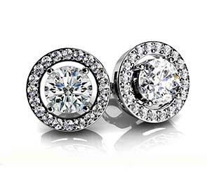 Romanced By Diamonds Stud Earrings
