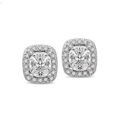 Lovecuts Diamond Fashion Earrings 5/8 Carat Total Weight