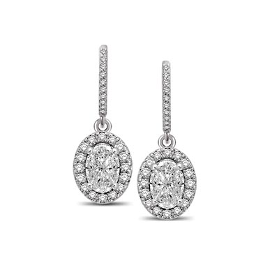 Lovecuts Diamond Fashion Earrings 3/4 Carat Total Weight