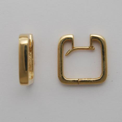 14k Gold Huggie Style Earrings Ahuger58 Usa Jewels