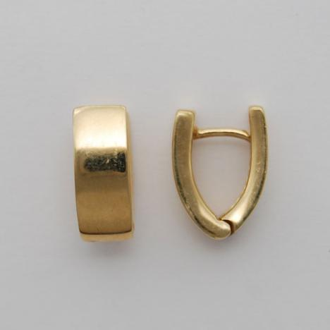 14k Gold Huggie Style Earrings Ahuger713 Usa Jewels