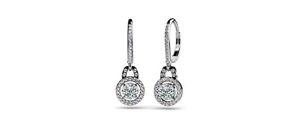 sterling jade pear lever hinged large earrings shaped back products sparkleandjade sparkle cz silver