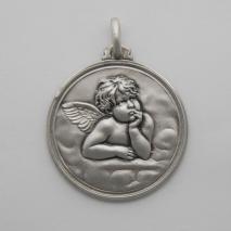 Sterling Silver Angelo Raffaello Medal