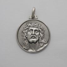 Sterling Silver Ecce Homo Medal