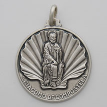 Sterling Silver James the Elder Medal