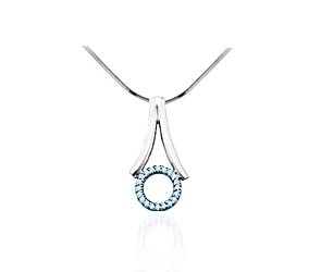 Diamond Fashion Pendant<br> .06 Carat Total Weight