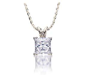 Diamond Princess Cut Scroll