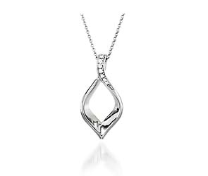 Diamond Ribbon Fashion Pendants