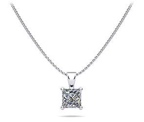 Perfect Princess Diamond Pendant