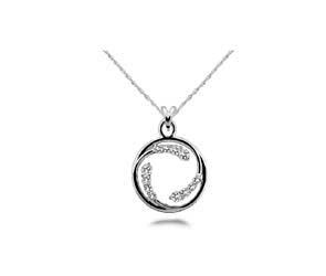Circle of Life Ilusion Diamond Pendant