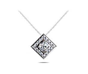 Diamond Squared Designer Pendant