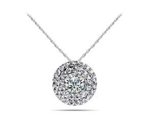 Diamond Circles Designers Pendant